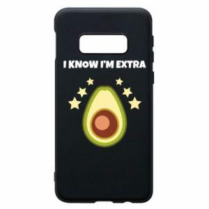 Etui na Samsung S10e I know i'm extra