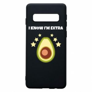Etui na Samsung S10 I know i'm extra