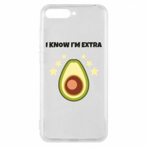 Etui na Huawei Y6 2018 I know i'm extra
