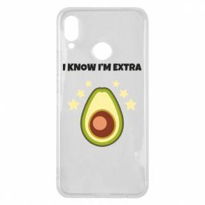 Etui na Huawei P Smart Plus I know i'm extra