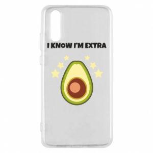 Etui na Huawei P20 I know i'm extra