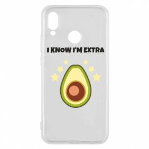 Etui na Huawei P20 Lite I know i'm extra