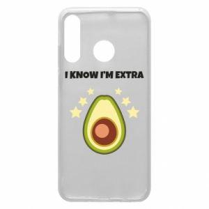 Etui na Huawei P30 Lite I know i'm extra