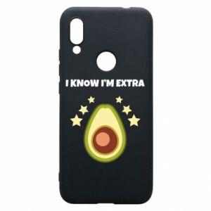 Etui na Xiaomi Redmi 7 I know i'm extra
