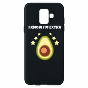 Etui na Samsung A6 2018 I know i'm extra