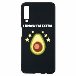 Etui na Samsung A7 2018 I know i'm extra