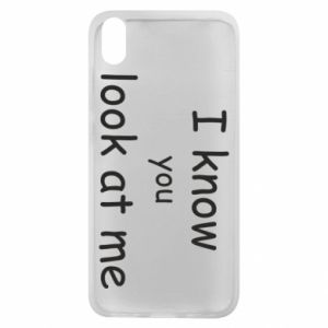 Etui na Xiaomi Redmi 7A I know you look at me