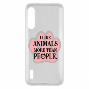Xiaomi Mi A3 Case I like animals more than people