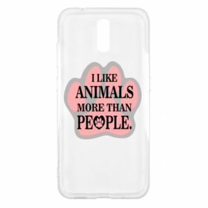 Nokia 2.3 Case I like animals more than people