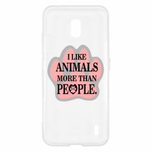 Nokia 2.2 Case I like animals more than people