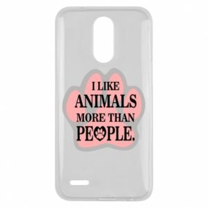 Lg K10 2017 Case I like animals more than people