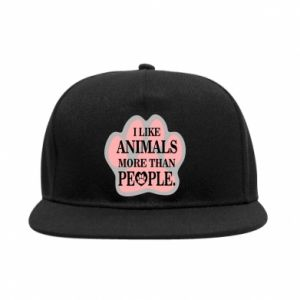 SnapBack I like animals more than people