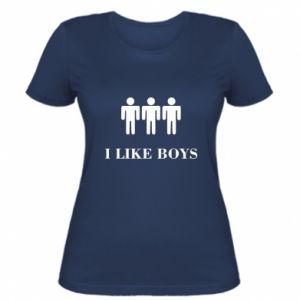 Koszulka damska I like boys