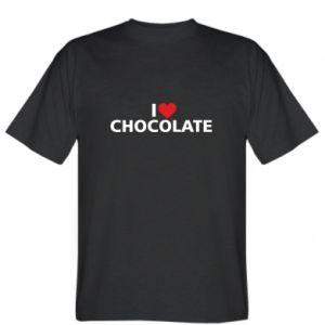 Koszulka I like chocolate