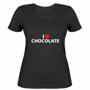 Damska koszulka I like chocolate
