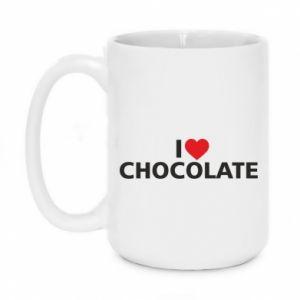 Kubek 450ml I like chocolate