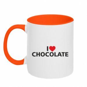 Kubek dwukolorowy I like chocolate
