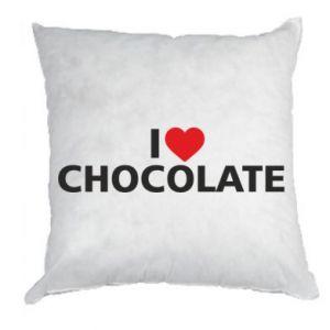 Poduszka I like chocolate