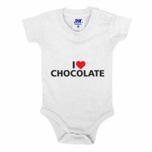 Body dla dzieci I like chocolate