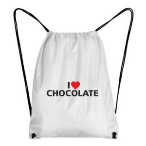 Plecak-worek I like chocolate