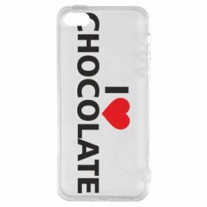 Etui na iPhone 5/5S/SE I like chocolate