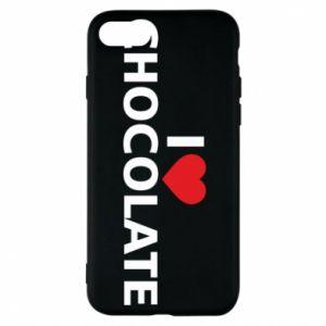 Etui na iPhone 7 I like chocolate