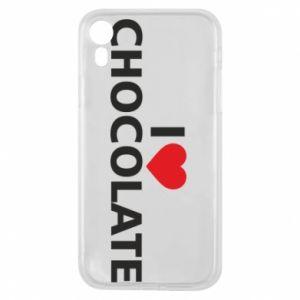 Etui na iPhone XR I like chocolate