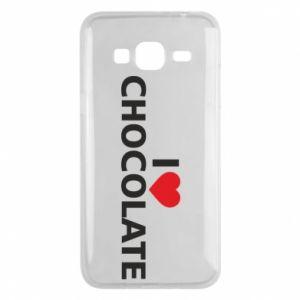 Etui na Samsung J3 2016 I like chocolate