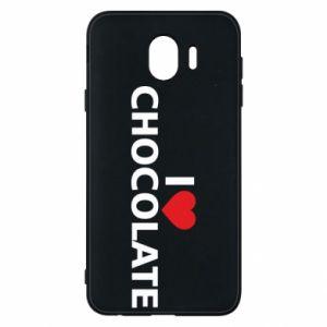 Etui na Samsung J4 I like chocolate