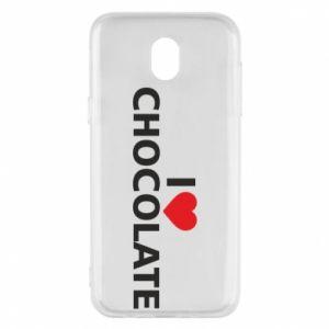 Etui na Samsung J5 2017 I like chocolate