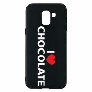 Etui na Samsung J6 I like chocolate
