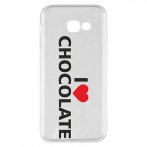 Etui na Samsung A5 2017 I like chocolate
