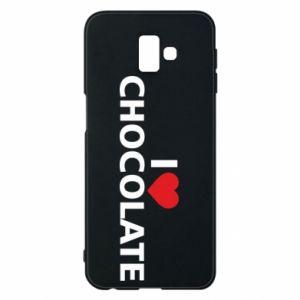 Etui na Samsung J6 Plus 2018 I like chocolate