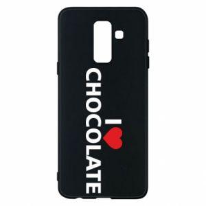 Etui na Samsung A6+ 2018 I like chocolate