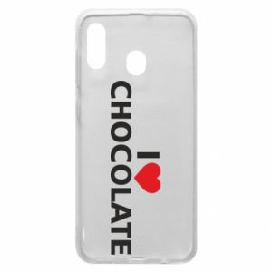 Etui na Samsung A20 I like chocolate