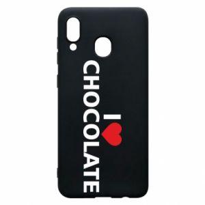 Etui na Samsung A30 I like chocolate