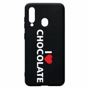 Etui na Samsung A60 I like chocolate