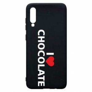 Etui na Samsung A70 I like chocolate