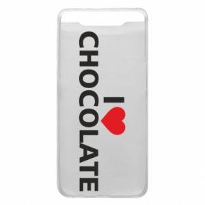 Etui na Samsung A80 I like chocolate