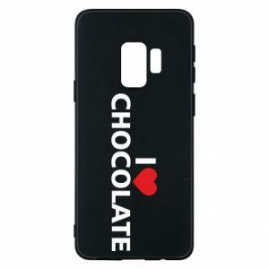 Etui na Samsung S9 I like chocolate