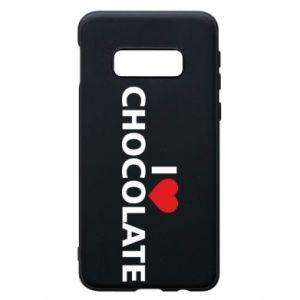 Etui na Samsung S10e I like chocolate