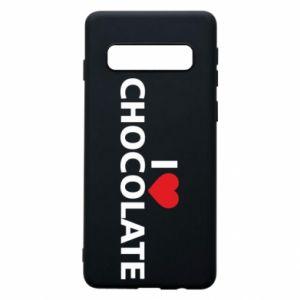 Etui na Samsung S10 I like chocolate