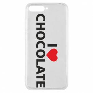 Etui na Huawei Y6 2018 I like chocolate