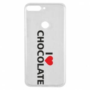 Etui na Huawei Y7 Prime 2018 I like chocolate