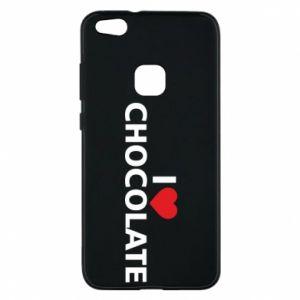 Etui na Huawei P10 Lite I like chocolate
