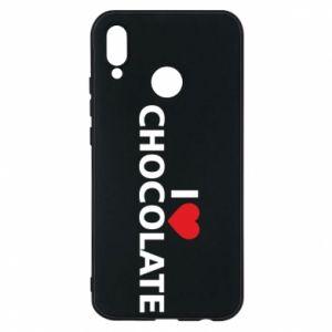 Etui na Huawei P20 Lite I like chocolate
