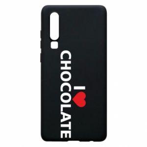 Etui na Huawei P30 I like chocolate