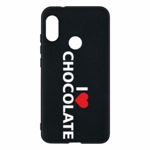 Etui na Mi A2 Lite I like chocolate