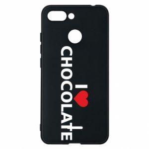 Etui na Xiaomi Redmi 6 I like chocolate