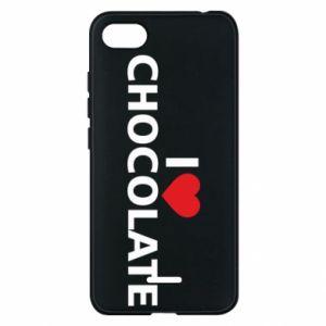 Etui na Xiaomi Redmi 6A I like chocolate